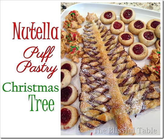 nutella christmas tree platter3