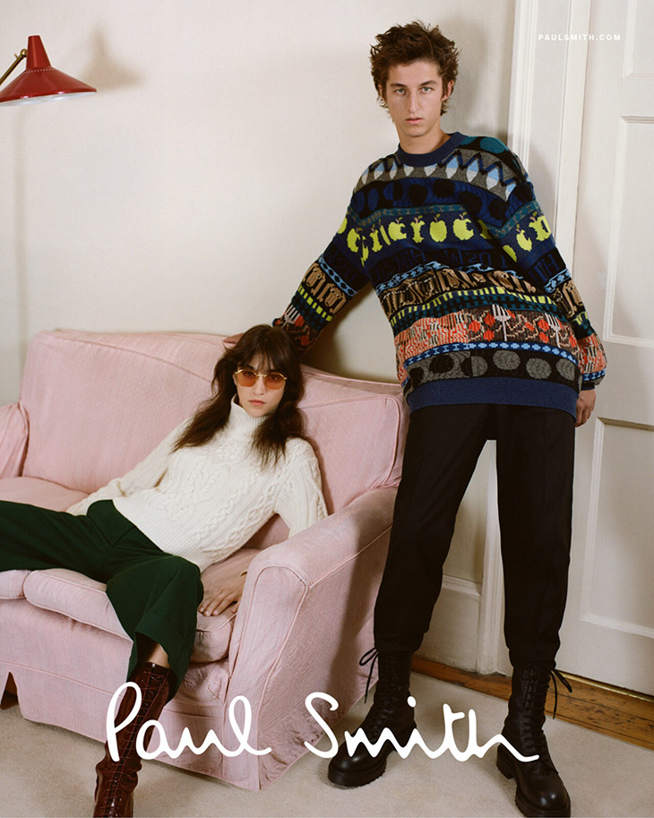 Paul Smith Holiday 2020 Campaign