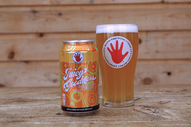 Left Hand Releases Juicy Goodness Dry-Hopped Golden Ale