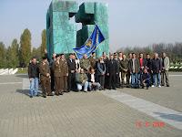 Odavanje počasti Alfredu Hillu Vukovar 2008