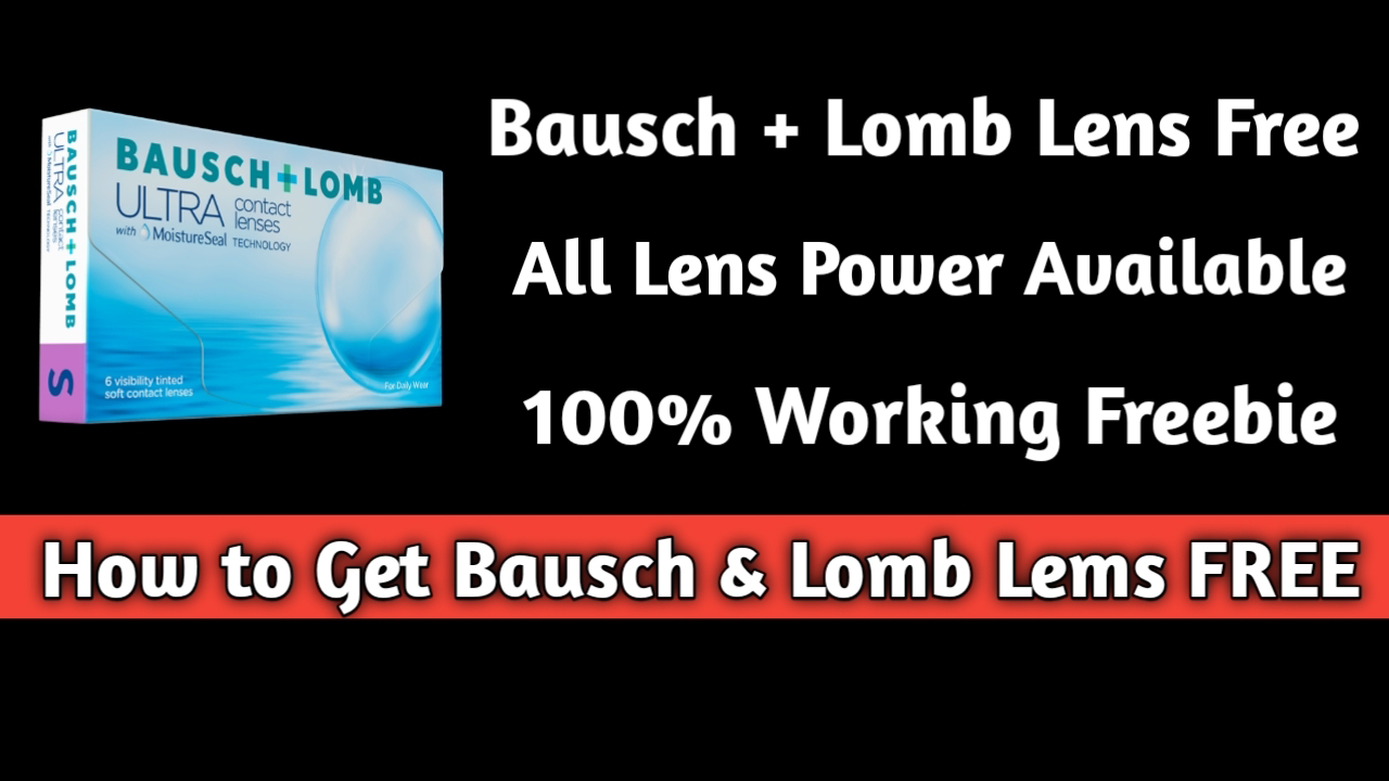 Get Free Contact Lenses From Bausch And Lomb