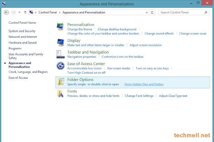 Appearance and Personalization in Windows 8.1