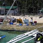 Saleswomen at Apo Island (Negros)