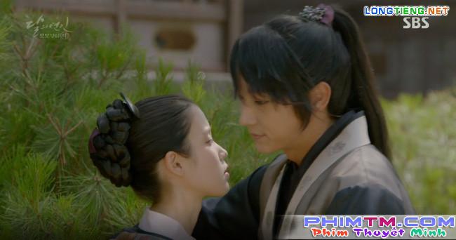 """Moon Lovers: """"Mười"""" Baekhyun chính thức có nụ hôn màn ảnh đầu tiên! - Ảnh 14."""