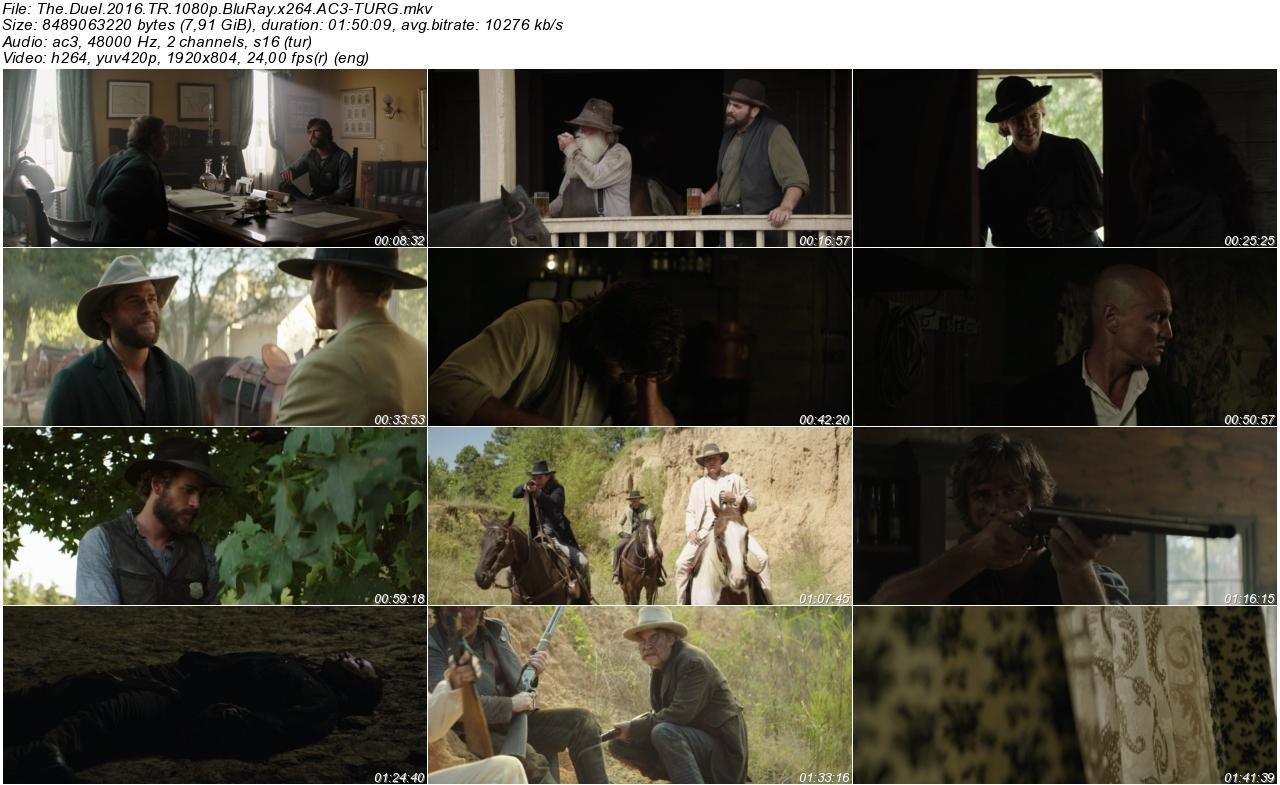 The Duel 2016 - 1080p 720p 480p - Türkçe Dublaj Tek Link indir