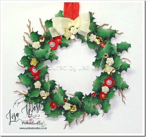 Holly Wreath (2)
