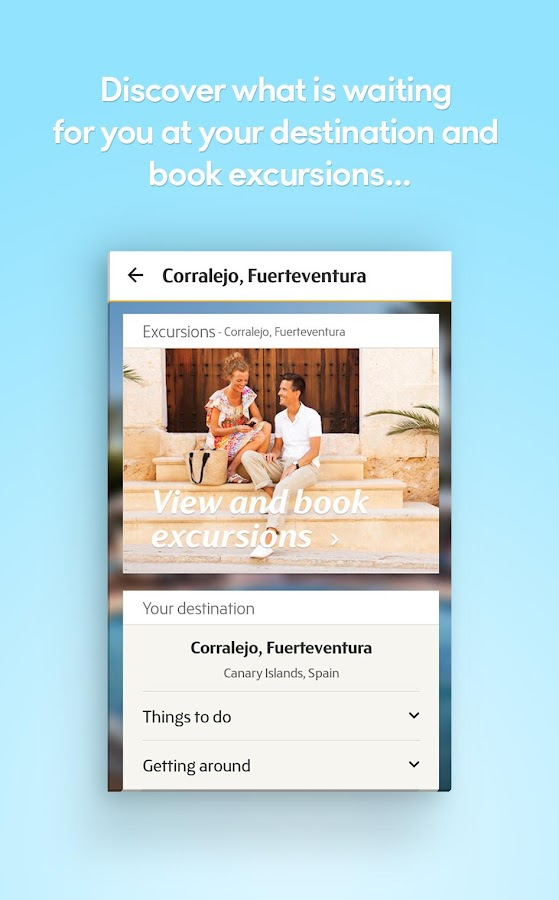 Thomas Cook - My Holiday- screenshot