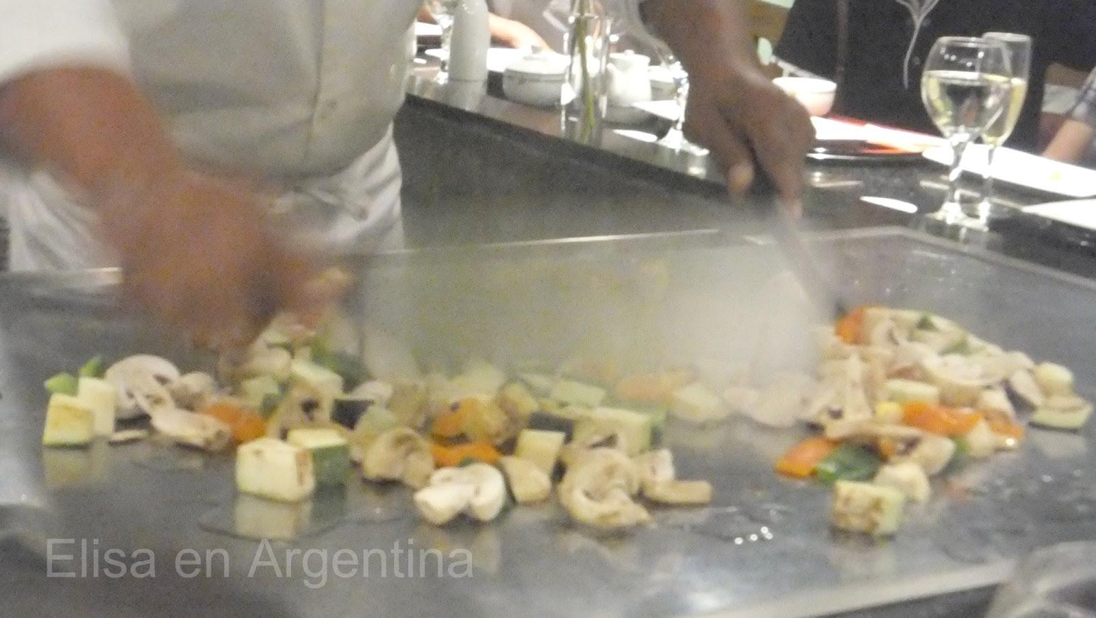Cocina teppan yaki, Naga Hibachi, Restaurant japonés en Cancún