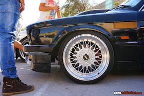 BMW E30 with BBS Mesh wheels