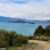 Contornando o Lago Gal Carrera, Chile