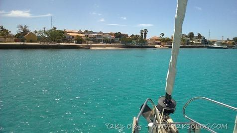 L'ancoraggio di Kralendijk - Bonaire