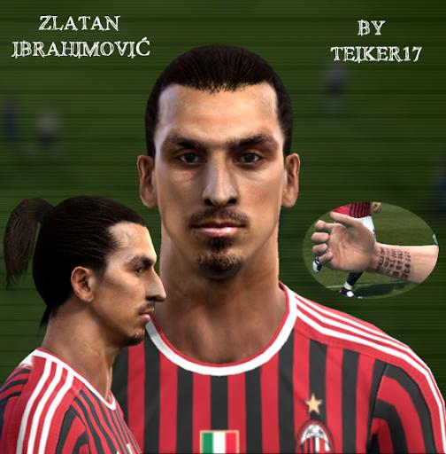 Zlatan Ibrahimović Face - PES 2012