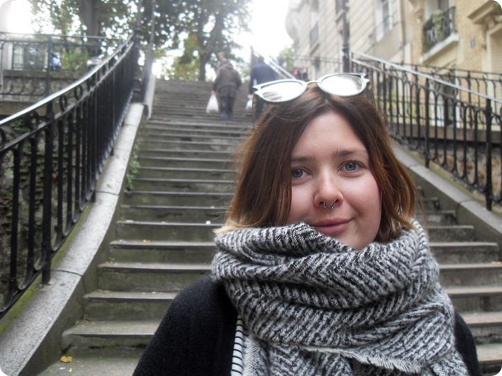 Trapper på Montmartre
