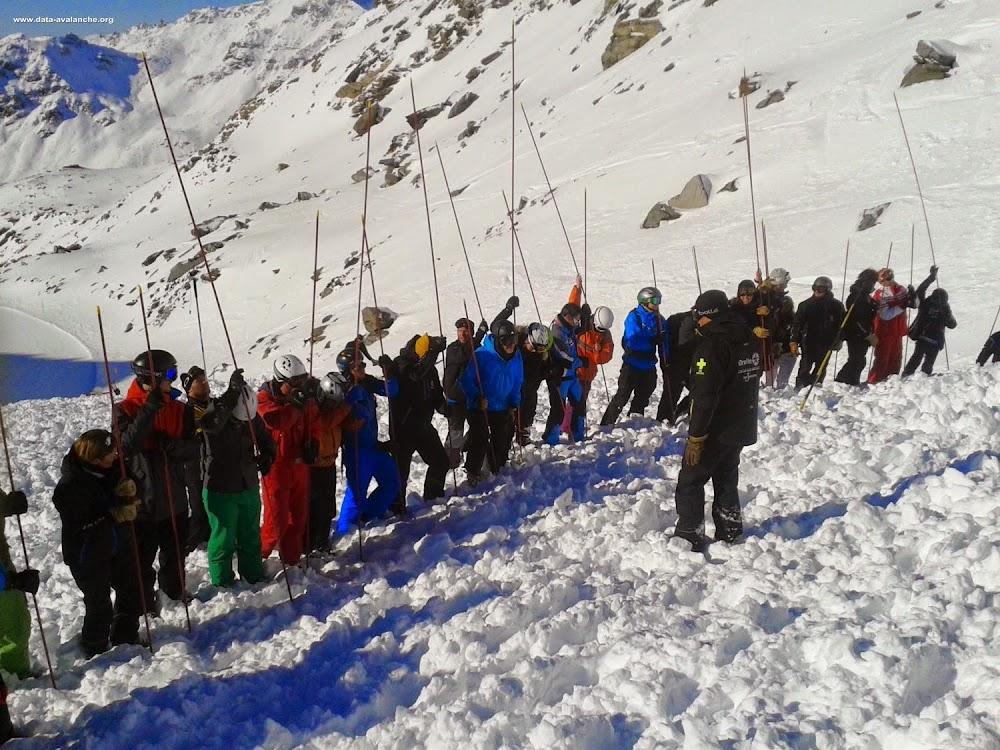 Avalanche Vanoise, secteur Orelle, Hors piste sous le Col de Caron - Photo 1