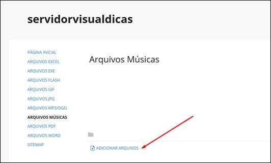 Como hospedar arquivos de música gratuitamente - Visual DicasComo hospedar arquivos de música gratuitamente - Visual Dicas