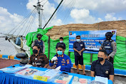 Direktorat Polairud Polda Kalbar Gagalkan Ratusan Ton Rotan Ke Malaysia