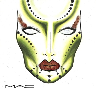 Alien Queen_Face Chart