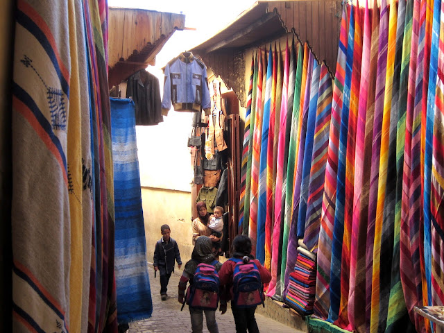 The souks of Fes