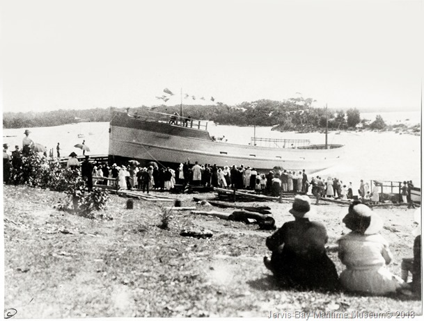 30-Launch-of-Currumbene-in-1922