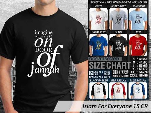 Kaos Distro Islami For Everyone 15 distro ocean seven