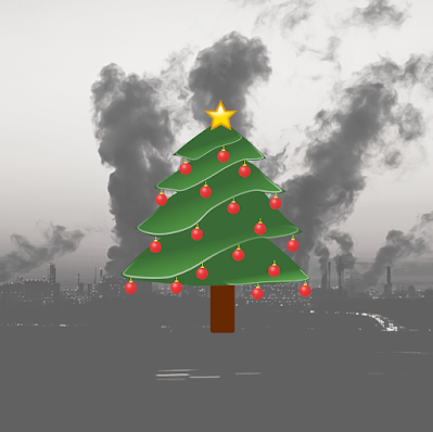 christmas, christmas tree, climate change, environment, consumerism