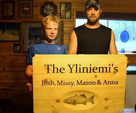 Mason and Josh