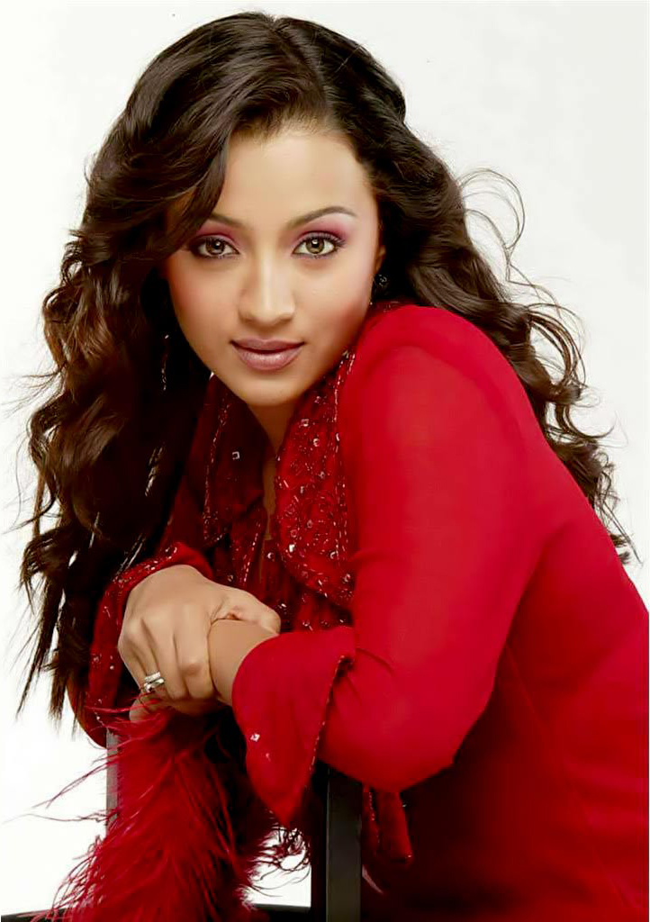 Hairstyle And Haircare Indian Actress Trisha Hairstyle Pictures