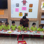 Square Day Celebration of Nursery Evening Section at Witty World, Chikoowadi(2018-19)