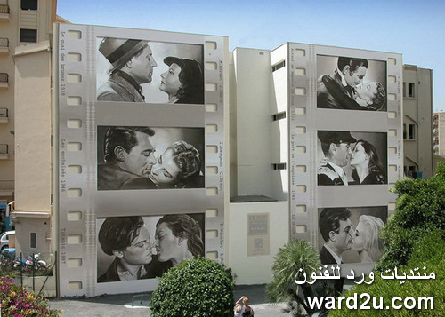 جداريات تطل عليك من النوافذ و الشرفات