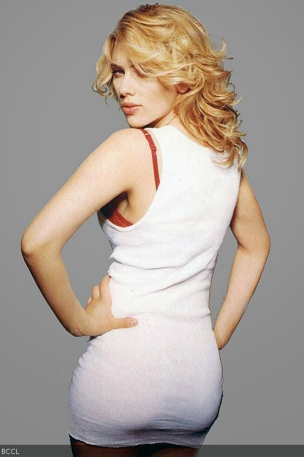 Sizzling beauty Scarlett Johansson, with her perfect derriere, makes it to the list of Hollywood's best butts.