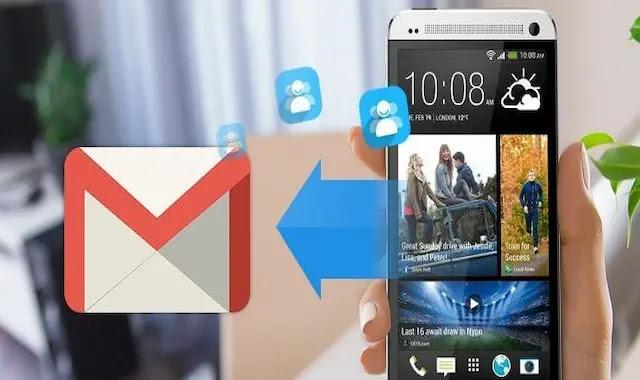 كيفية حفظ نسخة احتياطية من جهات الاتصال على حساب Gmail