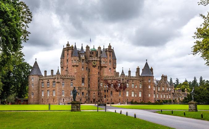 Castillo de Glamis, Escocia