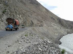 Trucks on KKH