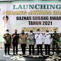 Sumbangkan Seluruh Gajinya ke Basnaz, Bupati Ruhimat Dapat Penghargaan Dari Basnaz Provinsi