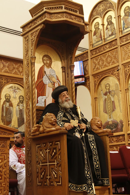 His Holiness Pope Tawadros II visit to St. Mark LA - _MG_0578.JPG