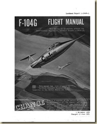 Lockheed F-104G Flight Manual_01