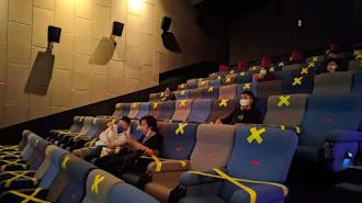 Bioskop Boleh Buka di Kota PPKM Level 3 dan 2