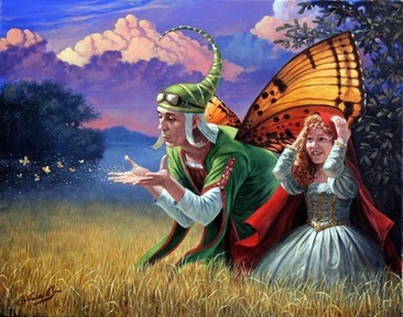 Michael Cheval, Promessa d'estate