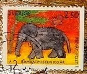 timbre Suède 001