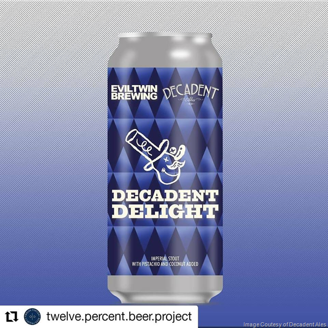 Evil Twin & Decadent Ales Collaborate On Decadent Delight Cans
