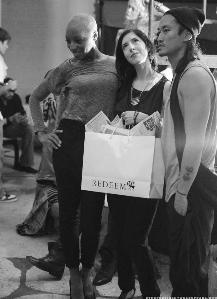 Lori from Redeem with models