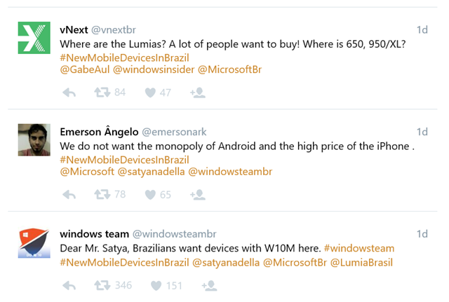 brazil wants lumias