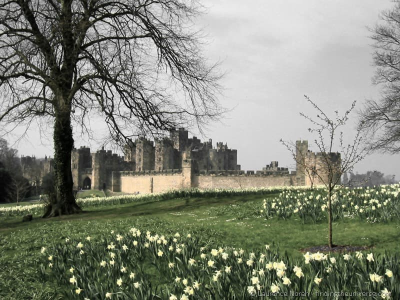 UK Two Week Itinerary - Alnwick Castle UK