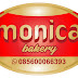 Desain logo monica bakery
