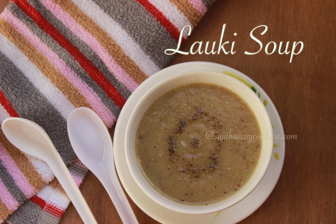 Lauki Soup3