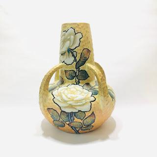 Turn Teplitz Bohemia Vase