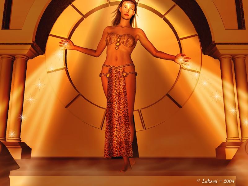 Goddess Of Light In Ring, Goddesses