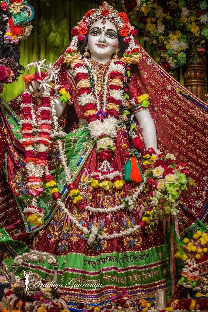 ISKCON Mayapur Deity Darshan 14 Jan 2017 (20)