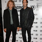 WWW.ENTSIMAGES.COM -  Jerry Harrison and Martin Shore   arriving at      The 22nd Raindance Film Festival (I Origins) at  Vue Piccadilly, London September 24th 2014Opening gala for annual London-based independent film festival to promote film about two biologists who uncover evidence that may fundamentally change society as we know it.                                                 Photo Mobis Photos/OIC 0203 174 1069