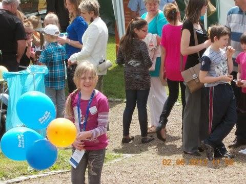 Pierwsze zdjęcia z V Bajkowego Dnia Dziecka MHD w Wieliczce.  Foto: Ewelina Mączka-wolontariuszka MHD